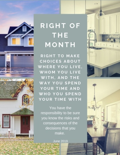 right of the month