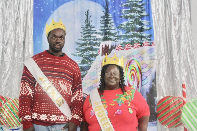 King & Queen of Ugly Sweater Contest