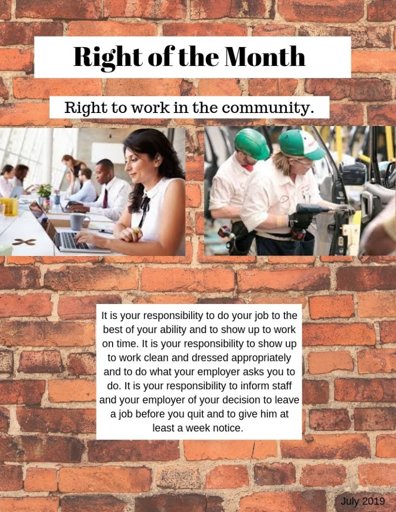 Right of the Month (2)
